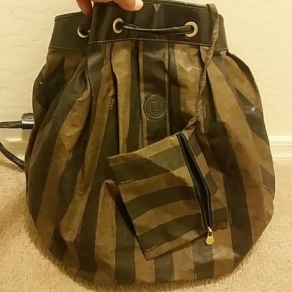 fe69b1b90c95 Fendi Bags | Large Vintage Drawstring Bag | Poshmark